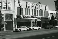 1972 KFWB Radio on Hollywood Blvd.