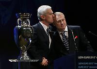 Michal  Listkiwicz (left) President of Polish Fa<br /> <br /> Grygoriy Surkis (right) President of Ukraine FA