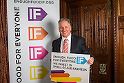 Lord McConnell supporting the Enough Food for Everyone?IF campaign. .MP's and Peers attended the parliamentary launch of the IF campaign in the State Rooms of Speakers House, Palace of Westminster. London, UK.