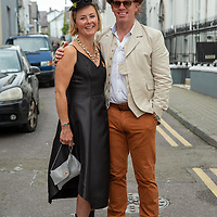 REPRO FREE<br /> Yvonne and Jay Dalton from Kinsale pictured at the 43nd Kinsale Gourmet Festival Mad Hatters Taste of Kinsale.<br /> Picture. John Allen