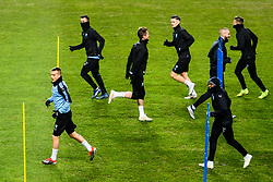 November 28, 2018 - MalmÃ, Sweden - 181128 The players of Malmö FF during a training session ahead of the Europa league match between Malmö FF and Genk on November 28, 2018 in Malmö..Photo: Petter Arvidson / BILDBYRÃ…N / kod PA / 92159 (Credit Image: © Petter Arvidson/Bildbyran via ZUMA Press)