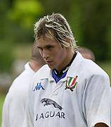 Oxford, England.<br /> <br /> IRB U21 Rugby World Cup - Iffley Road - Oxford <br /> 21.06.2003. Italy vs Japan, [Mandatory Credit: Peter SPURRIER/Intersport Images]  <br /> Sergio Parisse