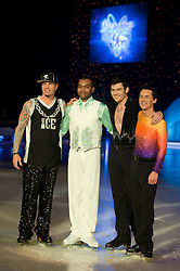 Dancing on Ice Photocall Sheffield Motorpoint Arena .Vanilla Ice, Johnson Beharry, Sam Attwater and Comedy Dave Vitty.7 April 2011.Images © Paul David Drabble