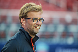 SANTA CLARA, USA - Friday, July 29, 2016: Liverpool's manager Jürgen Klopp during a training session ahead of the International Champions Cup 2016 game against AC Milan on day nine of the club's USA Pre-season Tour at the Levi's Stadium. (Pic by David Rawcliffe/Propaganda)