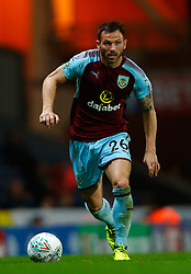 Burnley's Phillip Bardsley in action during the Carabao Cup, Second Round match at Ewood Park, Blackburn.