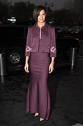 Celebrities are seen arriving at Brooks Brothers Bicentennial Celebration at Jazz At Lincoln Center in New York. 25 Apr 2018 Pictured: Katie Holmes. Photo credit: MEGA TheMegaAgency.com +1 888 505 6342