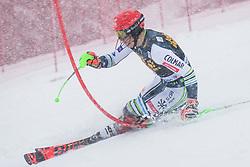 Stefan Hadalin (SLO) during the Audi FIS Alpine Ski World Cup Men's  Slalom at 60th Vitranc Cup 2021 on March 14, 2021 in Podkoren, Kranjska Gora, Slovenia Photo by Grega Valancic / Sportida