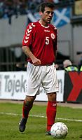 Fotball<br /> Treningskamp<br /> Danmark v Skottland<br /> 28. april 2004<br /> Foto: Digitalsport<br /> NORWAY ONLY<br /> <br /> NICLAS JENSEN (DEN)