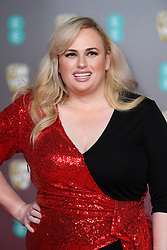 Rebel Wilson attending the 73rd British Academy Film Awards held at the Royal Albert Hall, London. Photo credit should read: Doug Peters/EMPICS Entertainment
