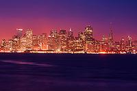 San Francisco Skyline from Treasure Island, Morning