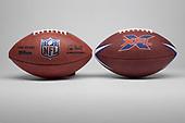 NFL-NFL-XFL Footballs-Jun 26, 2020