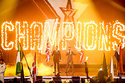 Editorial use only. No Book Publishing.<br /> Mandatory Credit: Photo by Dymond/Thames/Syco/Shutterstock (10367685b)<br /> Ant and Dec<br /> 'Britain's Got Talent: The Champions' TV show, Series 1, Episode 1, London, UK - 31 Aug 2019