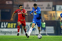 Richie Benett. Stockport County FC 4-0 Chesterfield FC. Emirates FA Cup. 4.11.20
