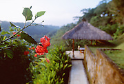 The Begawan Giri Resort in Bali, Indonesia was rated the top small hotel in the world in 2002 by Conde Nast Traveler Magazine. The exclusive resort has just five residences with 22 bedrooms.