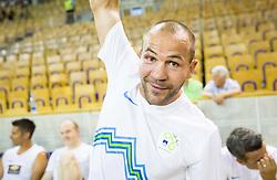 Dejan Zavec during football and basketball charity event All Legends by Olimpiki, on June 9, 2015 in Hala Tivoli, Ljubljana, Slovenia. Photo by Vid Ponikvar / Sportida