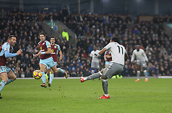 Anthony Martial of Manchester United scores his sides first goal - Mandatory by-line: Jack Phillips/JMP - 20/01/2018 - FOOTBALL - Turf Moor - Burnley, England - Burnley v Manchester United - English Premier League