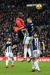 17th December 2017 - Premier League - West Bromwich Albion v Manchester United - Romelu Lukaku of Man Utd scores their 1st goal - Photo: Simon Stacpoole / Offside.