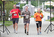 Augusta, New Jersey - Runners compete in 6-, 12-, 24- and 72-hour races during the 3 Days at the Fair races at Sussex County Fairgrounds on May 10-13 2012.