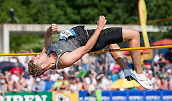 28.05.2016, Moeslestadion, Goetzis, AUT, 42. Hypo Meeting Goetzis 2016, Zehnkampf der Herren, Hochsprung, im Bild Kevin Mayer (FRA) // during the high jump event of the Decathlon competition at the 42th Hypo Meeting at the Moeslestadion in Goetzis, Austria on 2016/05/28. EXPA Pictures © 2016, PhotoCredit: EXPA/ Peter Rinderer