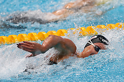 July 26, 2017 - Budapest, Hungary - Federica Pellegrini (ITA) competes and wins the Gold Medal on Women's 200 m Freestyle Final during the 17th FINA World Championships, at Duna Arena, in Budapest, Hungary, Day 13, on July 26th, 2017  (Credit Image: © Foto Olimpik/NurPhoto via ZUMA Press)