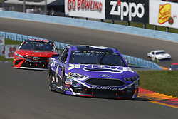 August 5, 2018 - Watkins Glen, New York, United States of America - Matt Kenseth (6) brings his car through the turns during the Go Bowling at The Glen at Watkins Glen International in Watkins Glen , New York. (Credit Image: © Chris Owens Asp Inc/ASP via ZUMA Wire)