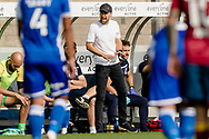 Bristol Rovers Manager Ben Garner shouts at his players during the EFL Sky Bet League 1 match between Bristol Rovers and Ipswich Town at the Memorial Stadium, Bristol, England on 19 September 2020.