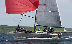 Sailing - SCOTLAND  - 27th May 2018<br /> <br /> 3rd days racing the Scottish Series 2018, organised by the  Clyde Cruising Club, with racing on Loch Fyne from 25th-28th May 2018<br /> <br /> IRL2007, Jump Juice, Conor Phelan, RCYC, Ker 37 custom<br /> <br /> Credit : Marc Turner<br /> <br /> Event is supported by Helly Hansen, Luddon, Silvers Marine, Tunnocks, Hempel and Argyll & Bute Council along with Bowmore, The Botanist and The Botanist