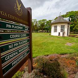 Gleneagles Golf Course in lockdown 19/5/2020