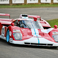 #110 Ferrari 512 M, chassis 1022, at Goodwood Festival of Speed 2008