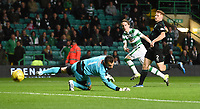 23/09/15 SCOTTISH LEAGUE CUP 3RD ROUND   <br /> CELTIC v RAITH ROVERS<br /> CELTIC PARK - GLASGOW <br /> Celtic's Stefan Johansen (left) makes it 2-0.