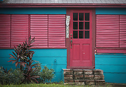October 7, 2016 - Florida, U.S. - Hurricane protection on a house in Lake Worth Friday, October 7, 2016. (Credit Image: © Bruce R. Bennett/The Palm Beach Post via ZUMA Wire)