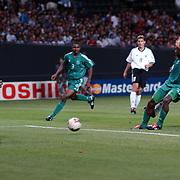 Germany's Carsten Janker scores their third goal