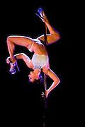Lundi 14 Septembre 2009. Paris, France..Premiere competition Officielle de Pole Dance en France..20eme Theatre (Paris 20eme)..Doris Arnold