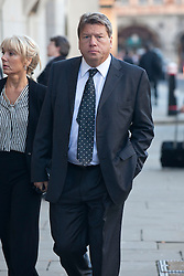 © under license to London News Pictures. 25/06/12..Anthony Pallant arrives at The Old Bailey charged with two counts of rape of a female under the age of 16 and one count of indecent assault on a girl under the age of 14. Selim Shah (aka Eddie Shah) also appears at The Old Bailey  charged with seven counts of rape of a female under the age of 16 and two counts of gross indecency with a girl under 14, with the charges alleged to have happened on various dates between 1991 and 1994...ALEX CHRISTOFIDES/LNP.