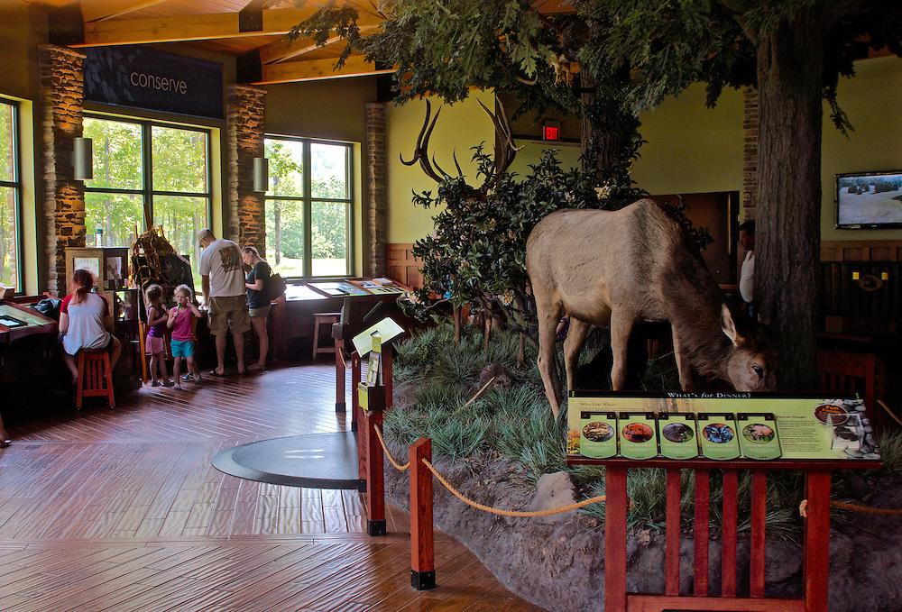 Northcentral Pennsylvania,  Visitor's Center, Winslow Overlook, Benezette, Elk County