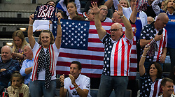 November 10, 2018 - Prague, Czech Republic - American Fans at the 2018 Fed Cup Final between the Czech Republic and the United States of America (Credit Image: © AFP7 via ZUMA Wire)