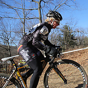 Laura Van Gilder in action during the Cyclo-Cross, Supercross Cup 2013 UCI Weekend at the Anthony Wayne Recreation Area, Stony Point, New York. USA. 24th November 2013. Photo Tim Clayton