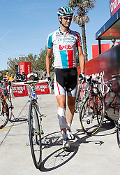 29.08.2011, Andalusien, ESP, LA VUELTA 2011, Stage 17, im Bild Jurgen Van de Walle during during the stage of La Vuelta 2011 between Faustino V and Pena Cabarga.September 7,2011. EXPA Pictures © 2011, PhotoCredit: EXPA/ Alterphoto/ Acero +++++ ATTENTION - OUT OF SPAIN/(ESP) +++++