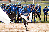 Middletown, New York - Middletown plays Goshen in an Orange County Youth Football League Division III playoff game at Watts Park  on Nov. 5, 2016.