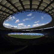 Roma 13/03/2021, Stadio Olimpico<br /> Guinness Six Nations 2021<br /> Italia vs Galles<br /> panoramica dello Stadio Olimpico