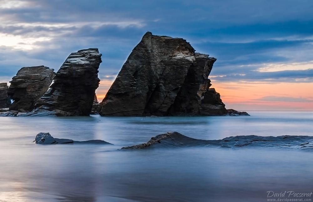 Asturias seashore.