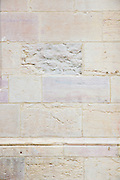 Renovated clean stone at the Ducal Palace, Palais des Ducs et des Etats de Bourgogne, at Dijon in the Burgundy region of France