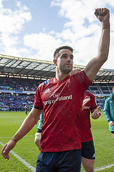 March 30, 2019 - Edinburgh, Scotland, United Kingdom - Connor Murray of |Munster celebrates during the Heineken Champions Cup Quarter Final match between Edinburgh Rugby and Munster Rugby at Murrayfield Stadium in Edinburgh, Scotland, United Kingdom on March 30, 2019  (Credit Image: © Andrew Surma/NurPhoto via ZUMA Press)