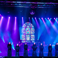 Gregorian rock band from Germany performs in Budapest, Hungary on November 02, 2011. ATTILA VOLGYI