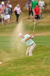 March 24, 2018 - Austin, TX, U.S. - AUSTIN, TX - MARCH 24: Kevin Kisner hits out of the bunker during the Round of 16 for the WGC-Dell Technologies Match Play on March 24, 2018 at Austin Country Club in Austin, TX. (Photo by Daniel Dunn/Icon Sportswire) (Credit Image: © Daniel Dunn/Icon SMI via ZUMA Press)