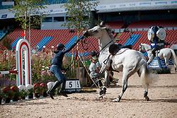 Philippaerts Olivier, BEL, H&M Legend Of Love<br /> Official Training Jumping<br /> FEI European Para Dressage Championships - Goteborg 2017 <br /> © Hippo Foto - Dirk Caremans<br /> 22/08/2017,