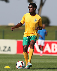 Danny Phiri of Golden Arrows during the 2016 Premier Soccer League match between Golden Arrows and Chippa United held at the Princess Magogo Stadium in Durban, South Africa on the 15th October 2016<br /> <br /> Photo by:   Steve Haag / Real Time Images