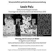 Poster for 2012 lecture at Hamburg University on Kandahar, The Fighting Season work.