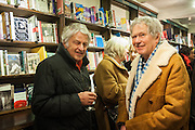 JOHN STEINER; DAVID MILLAR, William Fitzgerald, Book launch ,  'How to read a Latin poem - if you can't read Latin yet' published by OUP.- Daunts bookshop Marylebone, London 21 February 2013.