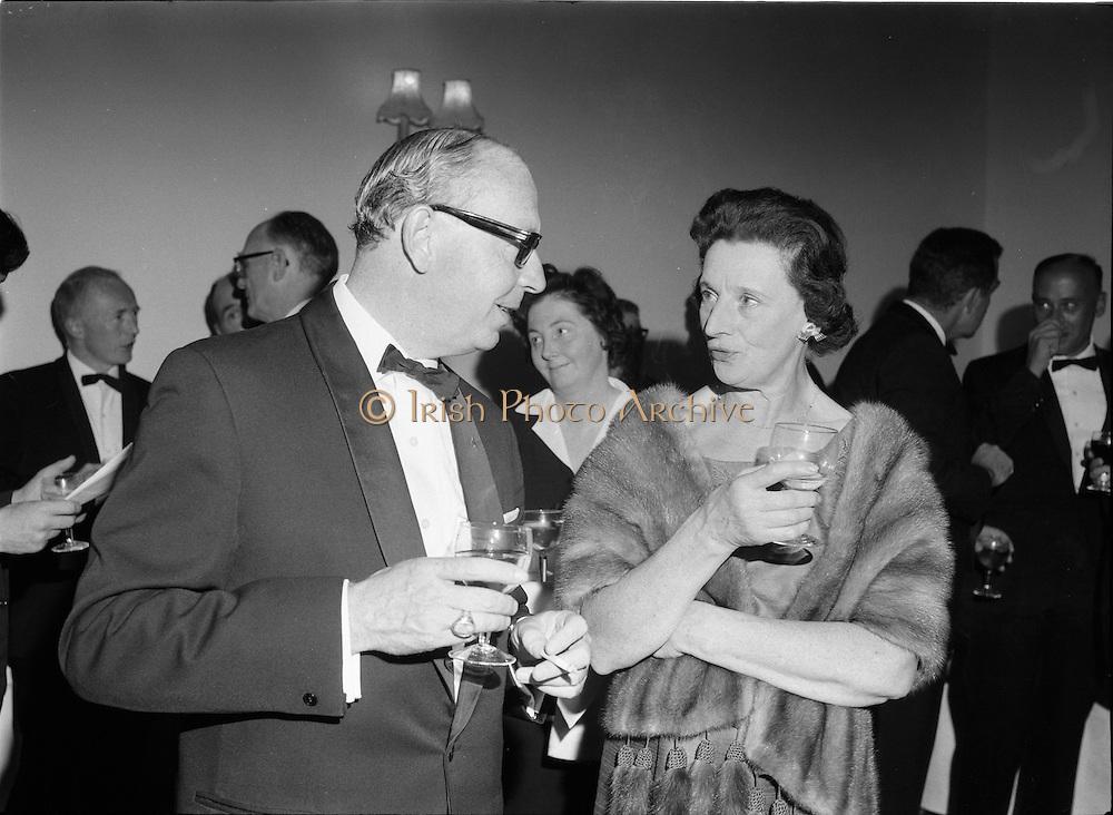 20/09/1967<br /> 09/20/1967<br /> 20 September 1967<br /> International SPAR dinner at the Shelbourne Hotel, Dublin.